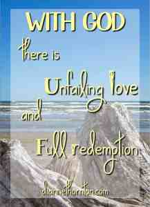 WITH GOD Unfailing Love Full Redemption PV