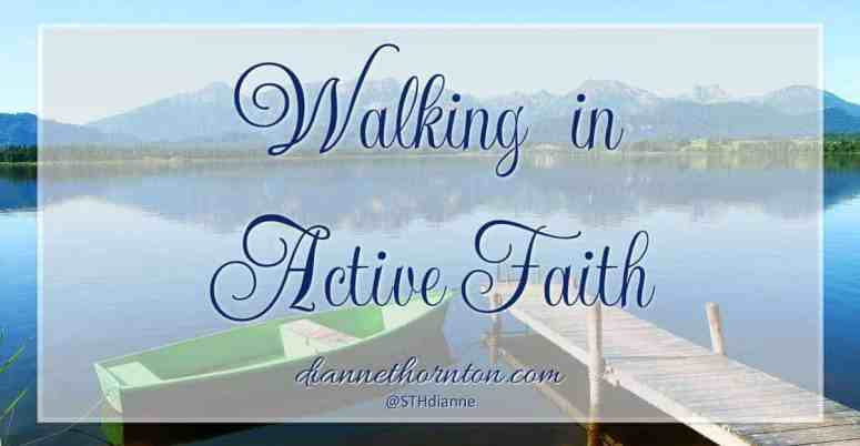 What does it mean to walk in faith? It's not closing your eyes, hoping for the best. Instead, active faith is focused & engaged, living expectantly!