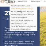Bible Reading Plans BTTB