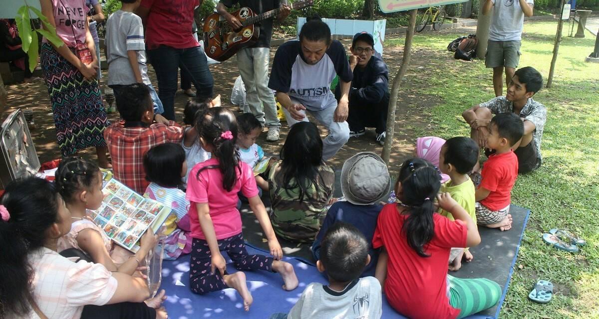 Nandvr Dvlvr Kembangkan Kemampuan Bersosialisasi Anak