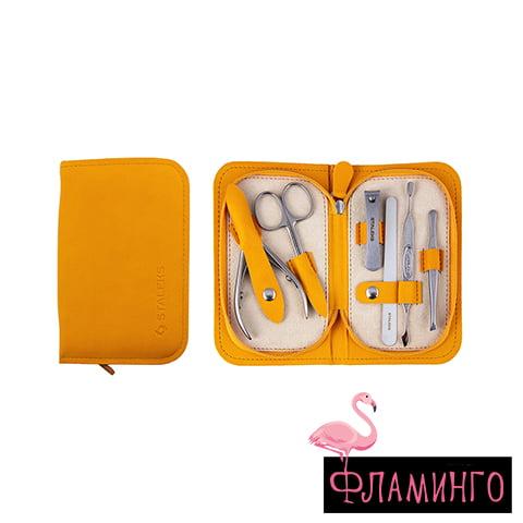 """MS-10 Набор маникюрный """"MULTI"""" Eco (горчичный) 1"""