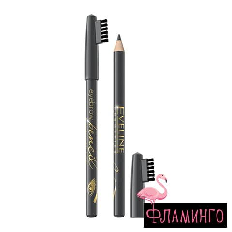 EV Карандаш д/бровей Eyebrow pencil 0675 Серый (6/36шт) 1
