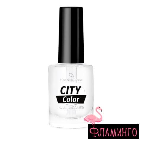 GR CITY COLOR (10,2мл) Лак д/ногтей CLEAR 1