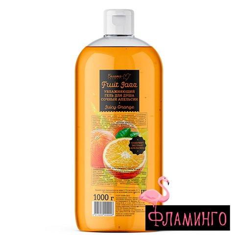 BelМ Fruit Jazz Увлажняющий гель для душа Сочный апельсин 1000 г 9906 1