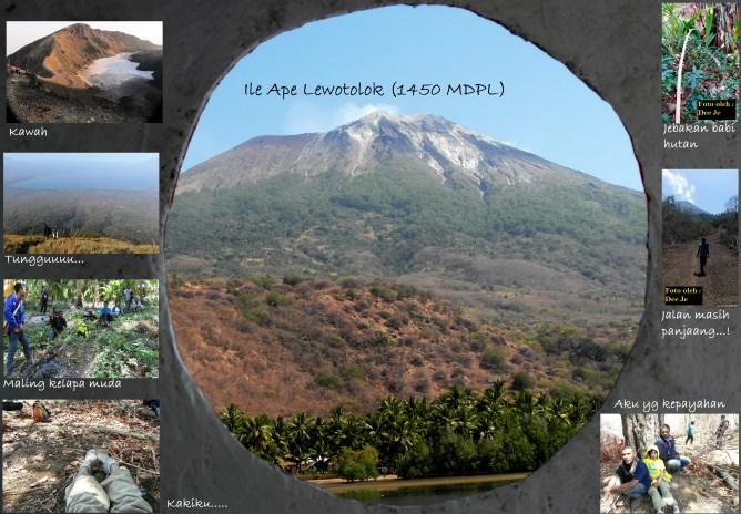 Tersesat di Ile Ape Lewotolok