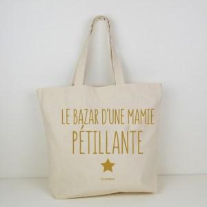 Cabas le Bazar d'une Mamie Pétillante