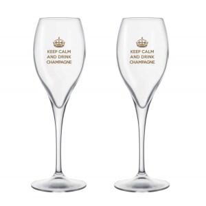 Duo de Flûtes de Champagne – Keep Calm