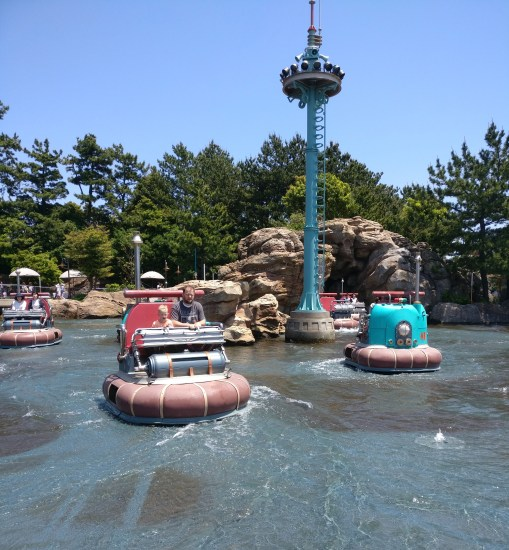 Tokyo Disneyland, Tokyo Disney Sea, traveling with kids, Family travel, Disney Themeparks, Aquatopia, Port Discovery