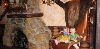Gaston's Tavern, Fantasyland, Magic Kingdom, Walt Disney World, Traveling with kids, creating family memories, family travel, diapersonaplane, diapers on a plane