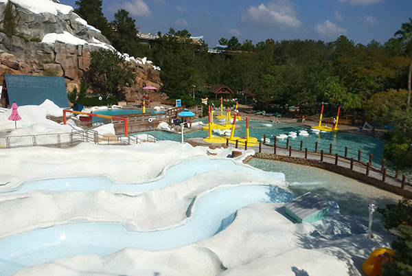 Blizzard Beach Swimming With Kids At The Melted Snow Water Park Wdw