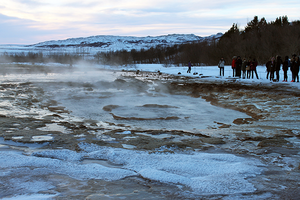 Golden Circle, Iceland, Strokkur, Thingveillir, Gullfoss Waterfall, driving, snow, ice, creating family memories, traveling with kids, family travel, diapersonaplane, diapers on a plane