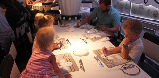 Disney Cruise Dining, Animator's Palette, Disney Food, Cruise Food, Cruise, Cruise Dining, Cruising with Disney, diapersonaplane, diapers on a plane, creating family memories, family travel,