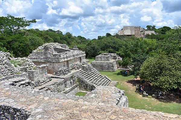 Ek Balam with Kids, Ek Balam, Mayan Ruins, Alma's Lds Tours, Mexico, Yucatan Peninsula, Quintana Roo, diapersonaplane, Diapers on a plane, family travel, traveling with kids