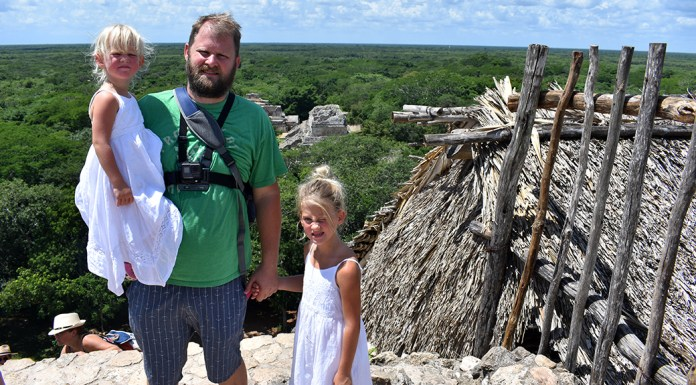 Ek Balam with Kids, Ek Balam, Mayan Ruins, Alma's Lds Tours, Mexico, Yucatan Peninsula, Quintana Roo, diapersonaplane, Diapers on a plane, family travel, traveling with kids