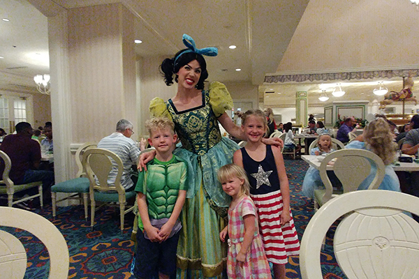 WDW, Walt Disney World, 1900 Park Fare, Grand Floridian, family travel, traveling with kids, creating family memories