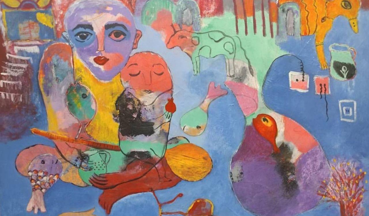 2.6: an open secret | Hiva Moazed — paintings