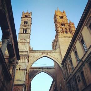 cattedrale Palermo tramonto