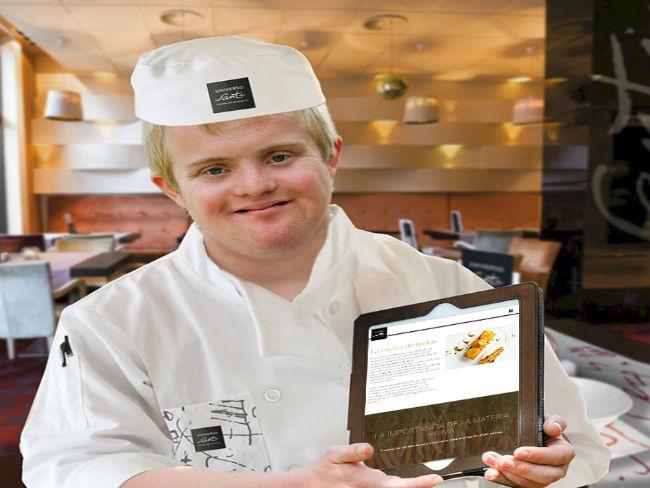 Obert el primer restaurant d'alta cuina atès totalment per discapacitats