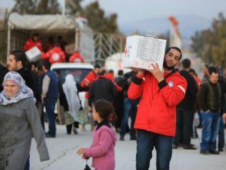 ajuda a síria des de creu roja