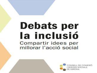cartell debats per la inclusio