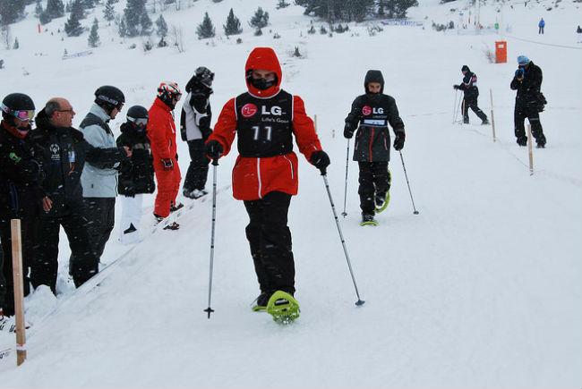 esquí alpí campionat