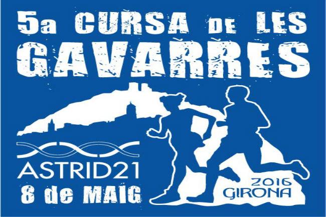 cartell cursa Les Gavarres