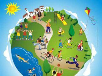 cartell dia mundial activitat fisica