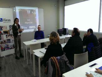 sílvia paneque inauguració curs agent cívic grup mifas