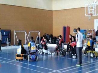 primer partit lliga catalana hoquei cadira rodes