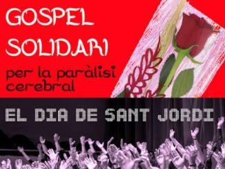 cartell gospel solidari sant jordi no somos invisibles