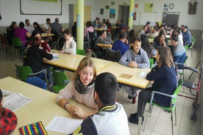alumnes visita centre ocupacional riudellots selva