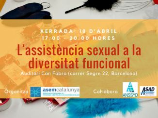 cartell jornada assistència sexual diversitat funcional