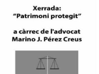 cartell xerrada patrimoni protegit