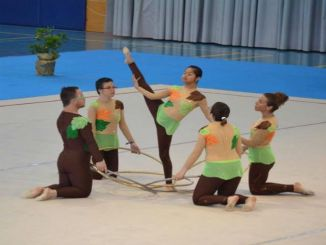 gimnastes rítmica discapacitat trofeu sitges