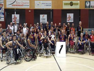 unes fc barcelona campió copa catalunya bàsquet cadira rodes