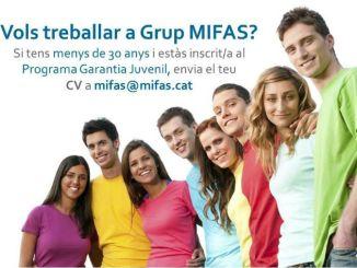 borsa treball programa garantia juvenil grup mifas