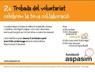 trobada voluntariat fundació aspasim
