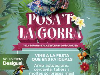 cartell posat la gorra parc ciutadella barcelona