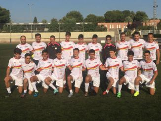 selecció espanyola sub19 futbol 7 European Para Youth Games