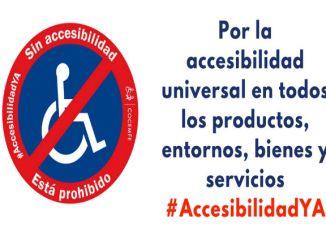 campanya accessibilitat ya concentració barcelona