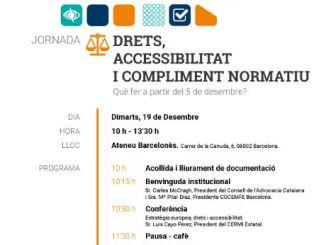 jornada experts dret discapacitat llei accessibilitat