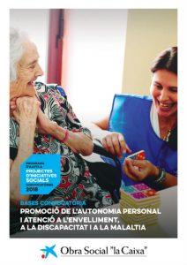 ajuts vida independent envelliment discapacitat