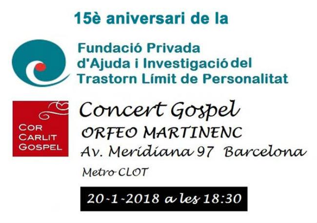 cartell concert gospel tlp 15 anys