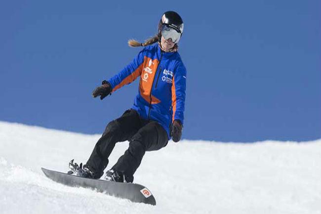 astrid fina disciplina snowboard