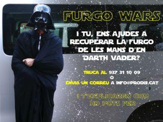 cartell campanya el retorn de la furgo saga star wars