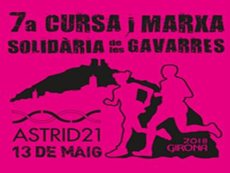 cartell cursa solidària les gavarres astrid 21