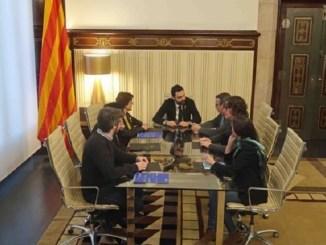 confederació taula tercer sector reunió president parlament