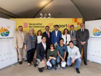Presentació Jocs Special Olympics institucions catalanes