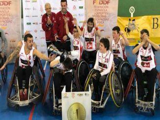 campionat espanya rugbi adapatat revalidar buc barcelona