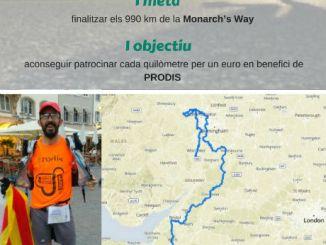 cartell repte solidari 1000 kilòmetres prodis oriol antolí